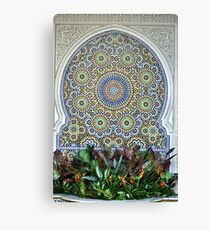 Mosaic and Planter Canvas Print