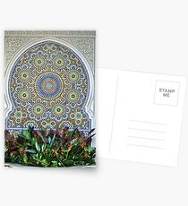Mosaic and Planter Postcards
