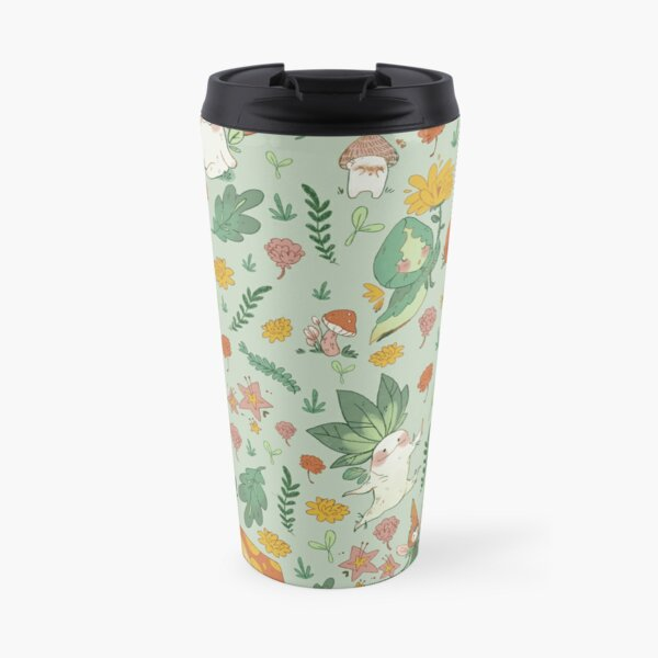 Cute Autumn Fairy Friends Travel Mug
