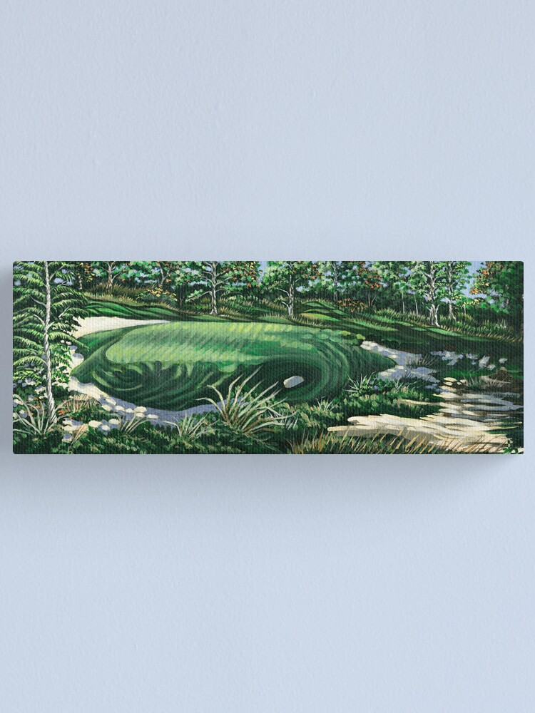 Alternate view of Pine Valley 10th Hole Canvas Print