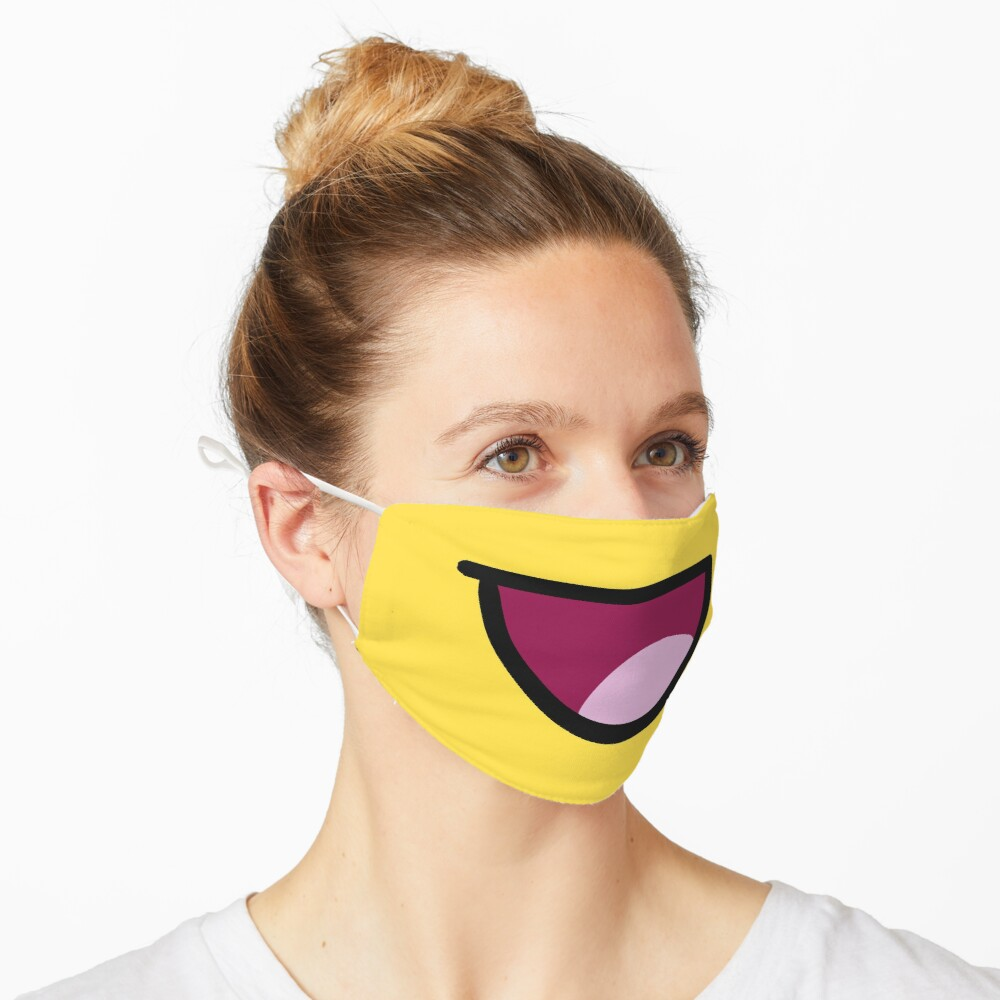 ROBLOX Epic Face Yellow Mask