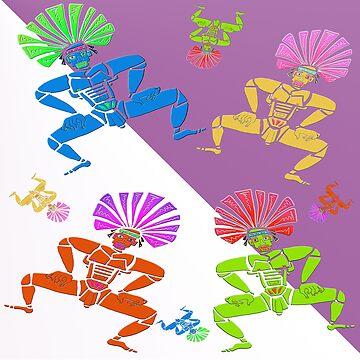 Dance Warrior X Chief by JimmyGlenn