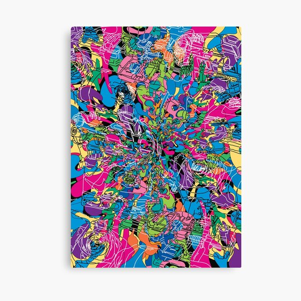 Dope Splash Canvas Print