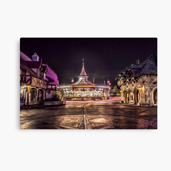 Prince Charming Regal Carrousel Canvas Print