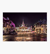 Prince Charming Regal Carrousel Photographic Print