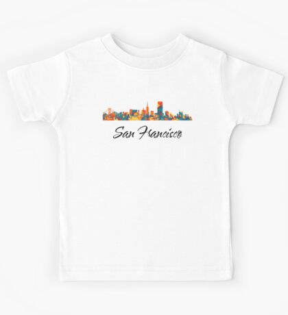 San Francisco Skyline Kids Clothes