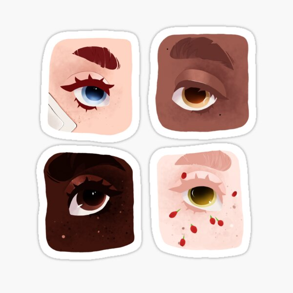 Shiny Eyes  Sticker
