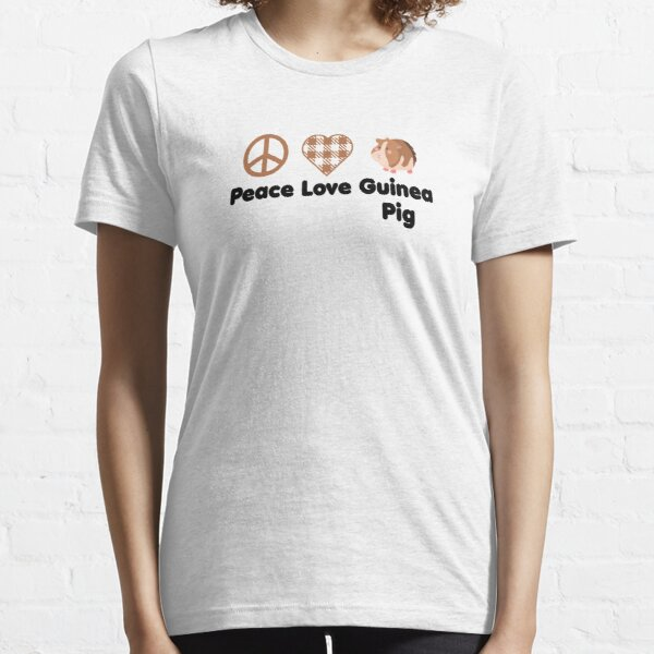 Guinea Pig Lover Gifts Love T-shirt Guinea Pig Owner Gift Guinea Pig T-shirt