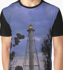 Gasparilla Lighthouse After Sunset Graphic T-Shirt