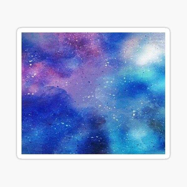 Galaxy Watercolor Sticker