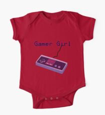 Gamer Girl NES Controller One Piece - Short Sleeve