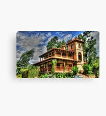 Old Colombian House Canvas Print