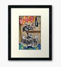 Public Figures Collection -- Carmen by Elo Framed Print