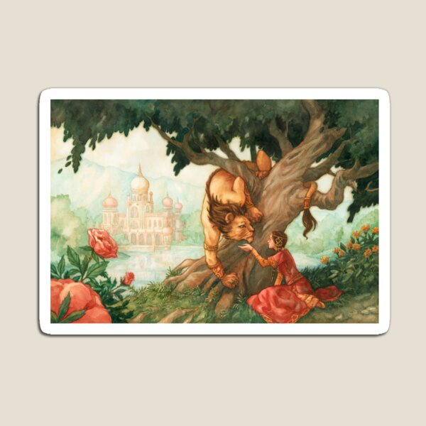 Beauty and the Beast Magnet