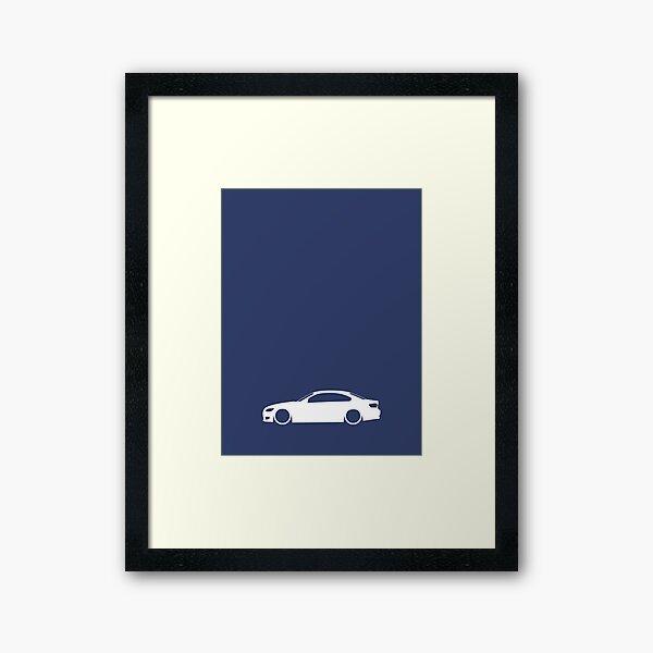 E92 German Coupe Framed Art Print