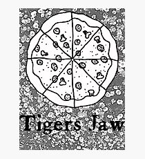 Tigers Jaw Pizza  Photographic Print