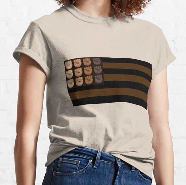 Melanated Flag Classic T-Shirt