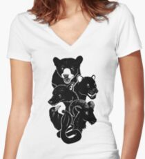 We Own The Night Women's Fitted V-Neck T-Shirt
