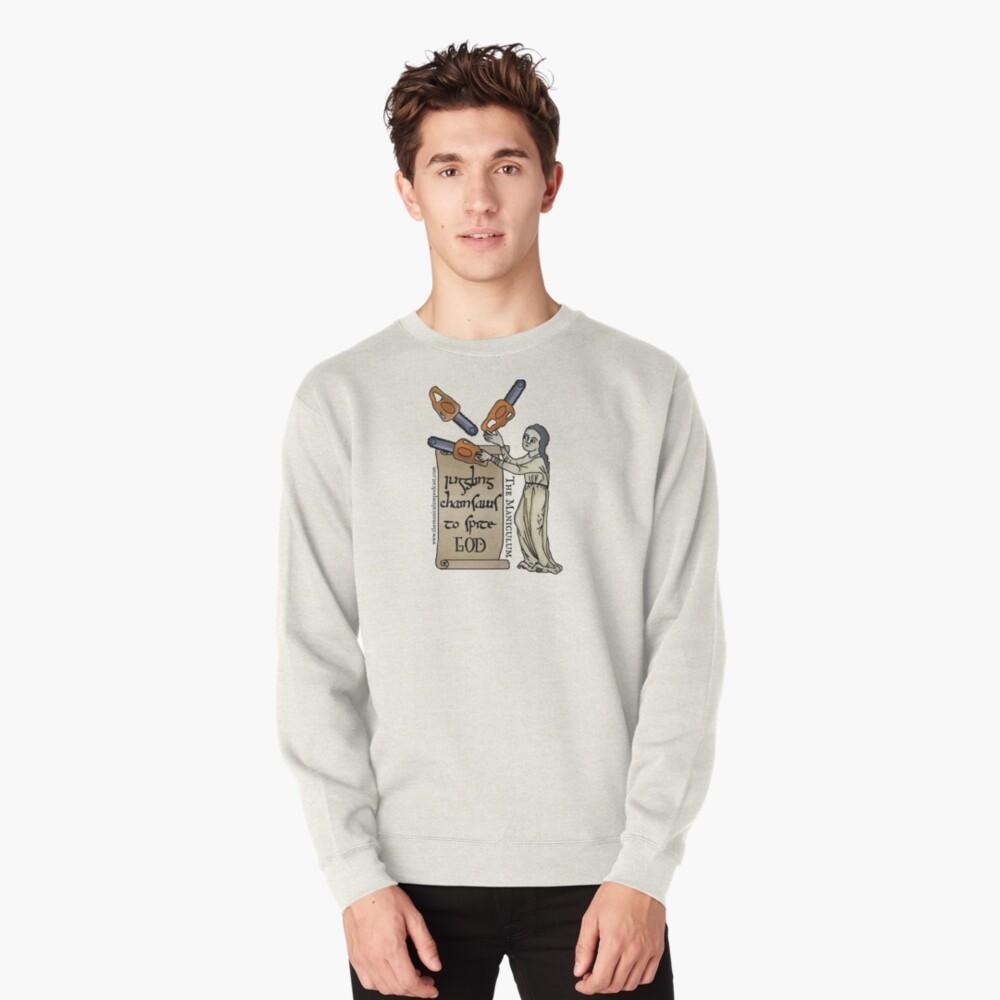 Juggling Chainsaws Pullover Sweatshirt
