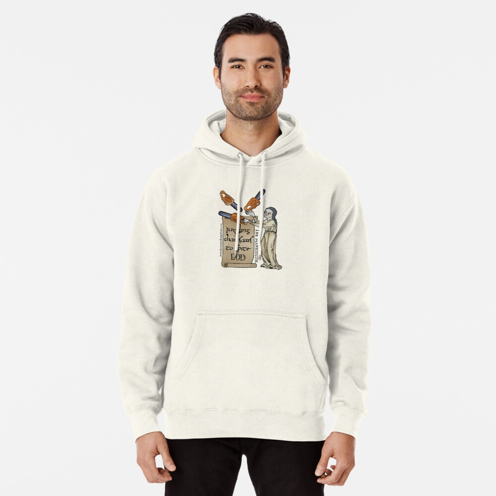 Juggling Chainsaws Pullover Hoodie
