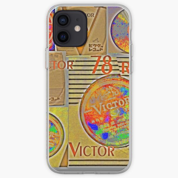 Colors, Victor, 78, 78 RPM, Shellac iPhone Soft Case