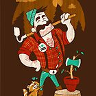 Green Thumberjack by Brian Cook