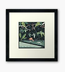 Nightshade Jungle Framed Print