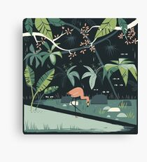 Nightshade Jungle Canvas Print