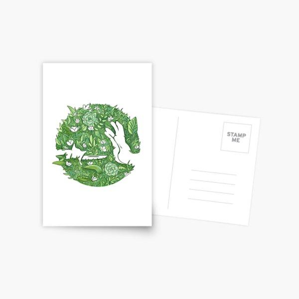 Earth Day Logo Postcard