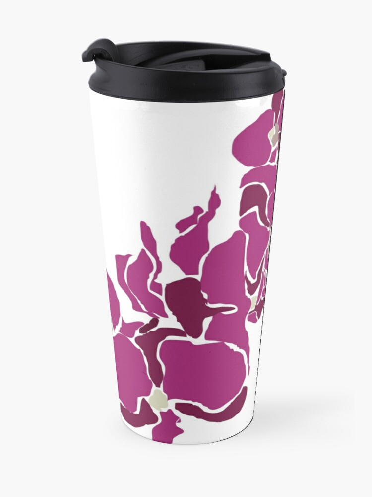 Alternate view of Orchards in Pink Travel Mug