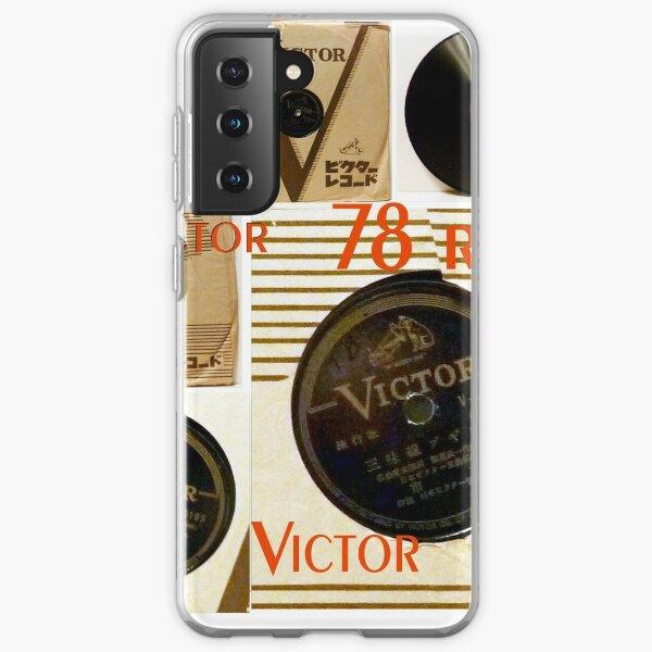Victor, 78, 78 RPM, Shellac, Rare Samsung Galaxy Soft Case