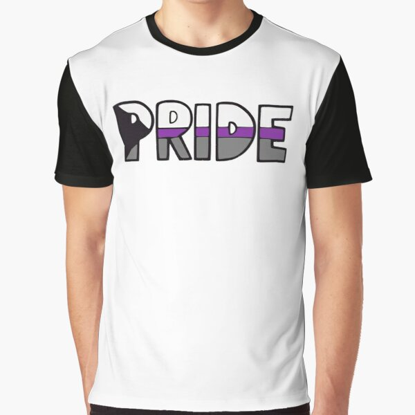 Demisexual Pride Flag Graphic T-Shirt