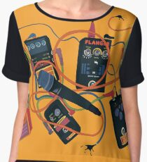 Pedals from Space Women's Chiffon Top