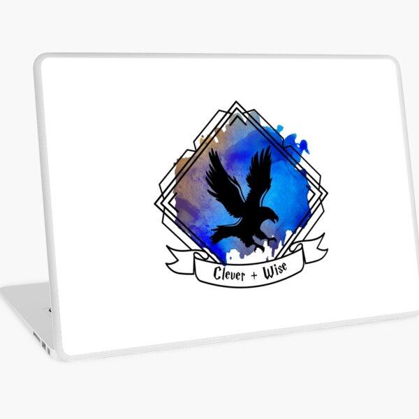 Eagle Raven Emblem Smart Clever Wise T-shirt Sticker phone case Laptop Skin