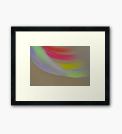 Another Light Play, As Is Framed Print