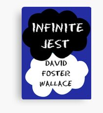 Infinite Jest Shirt Canvas Print