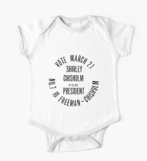 SHIRLEY CHISHOLM-FOR PRESIDENT Kids Clothes