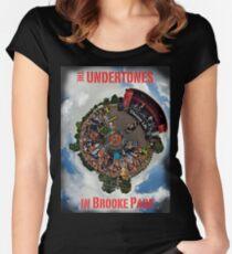 Teenage kicks - The Undertones play Brooke Park Women's Fitted Scoop T-Shirt