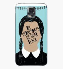 Funda/vinilo para Samsung Galaxy Miércoles Addams