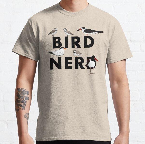 Bird Nerd (Shorebirds of the Southeast US) Classic T-Shirt