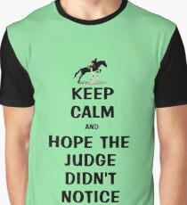 Keep Calm & Hope The Judge Didn't Notice T-Shirt Graphic T-Shirt