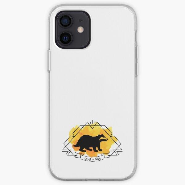 Huffle Badger Emblem Loyal Kind T-shirt Sticker Phone Case iPhone Soft Case