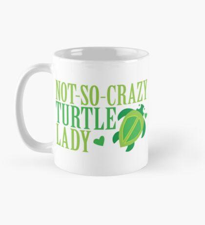 NOT-SO-CRAZY Turtle Lady Mug
