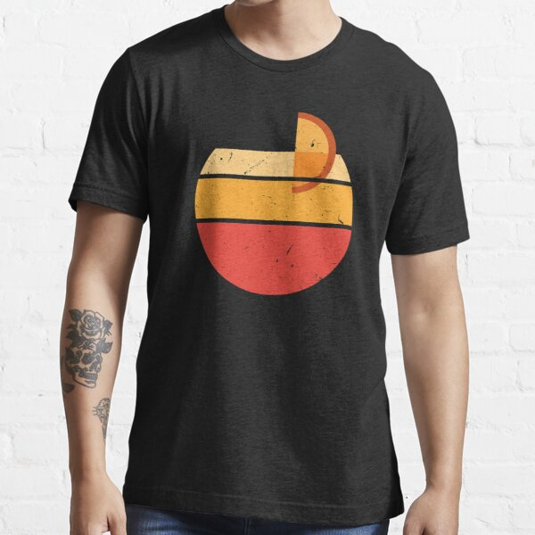 Aperol Spritz Retro Sonne Distressed Essential T-Shirt
