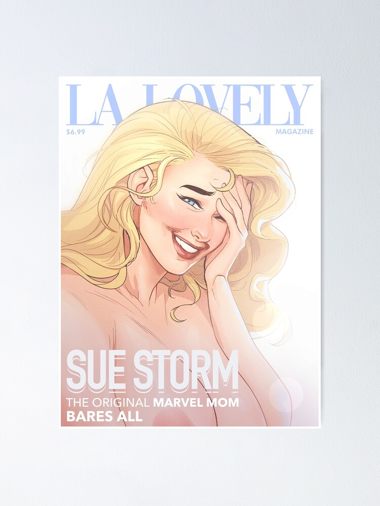 Alternate view of La Lovely - Invisible Woman Cover 1 Poster