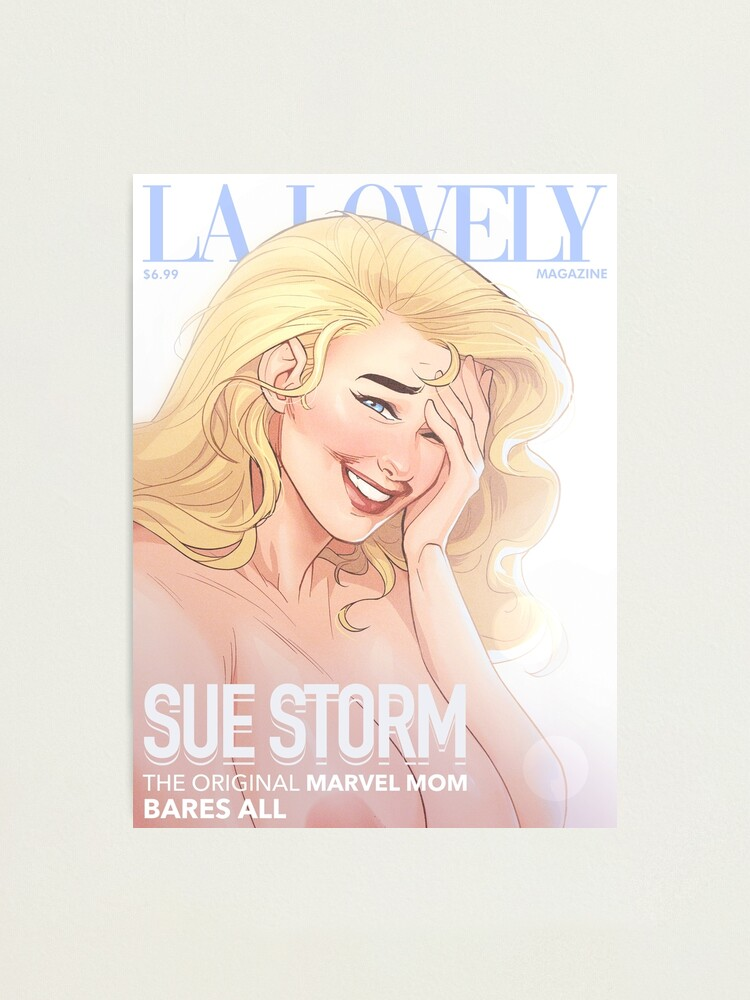 Alternate view of La Lovely - Invisible Woman Cover 1 Photographic Print