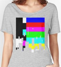 glitchy Women's Relaxed Fit T-Shirt