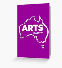 #AusVotesArts Arts Party Australia Greeting Card