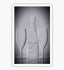 Wine forTwo - Just Imagine Sticker