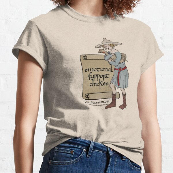 Emotional Support Chicken Classic T-Shirt
